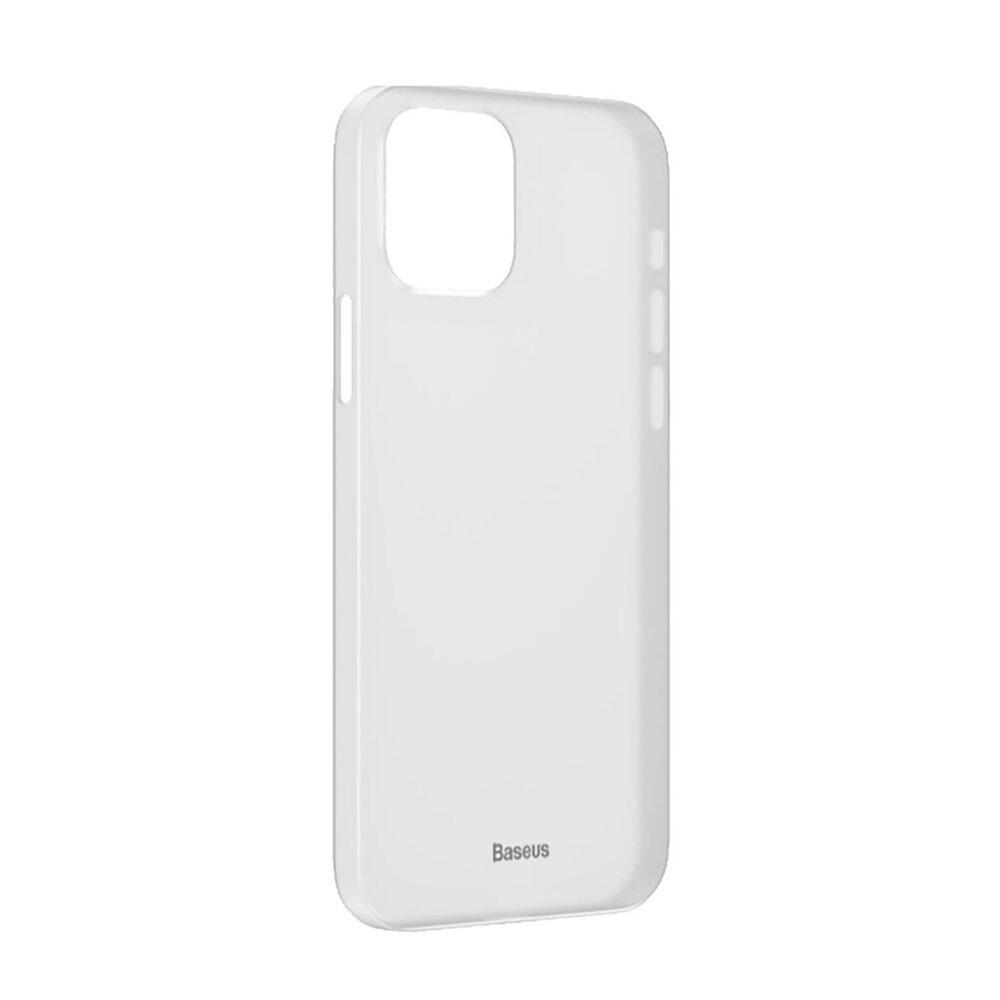 Ультратонкий чехол Baseus Wing Case White для iPhone 12   12 Pro