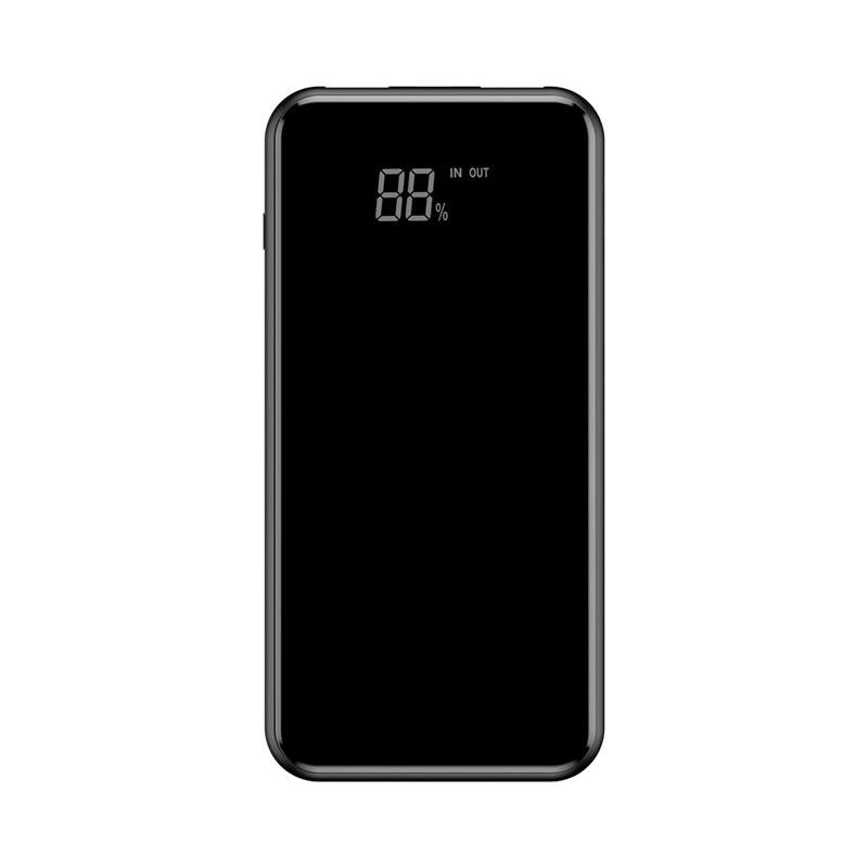 Купить Внешний аккумулятор с дисплеем и беспроводной зарядкой Baseus Wireless Charger 8000mAh Black