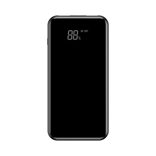 Внешний аккумулятор с дисплеем и беспроводной зарядкой Baseus Wireless Charger 8000mAh Black