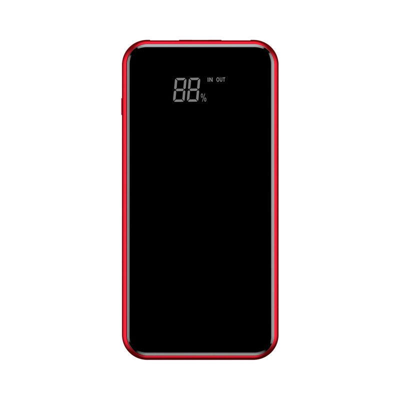 Купить Внешний аккумулятор с дисплеем и беспроводной зарядкой Baseus Wireless Charger 8000mAh Red