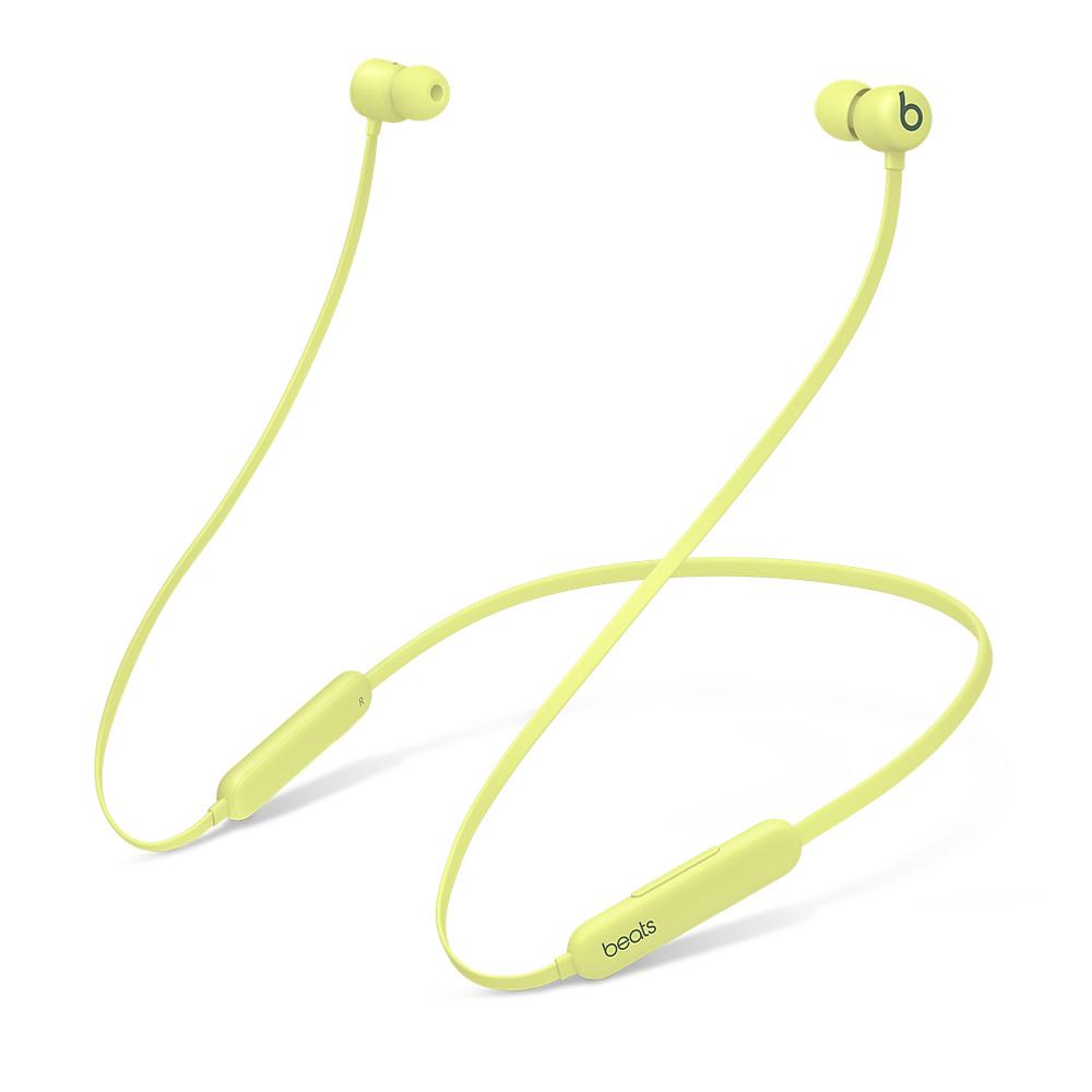 Купить Беспроводные Bluetooth наушники с микрофоном Beats Flex All‑Day Wireless Yuzu Yellow (MYMD2)