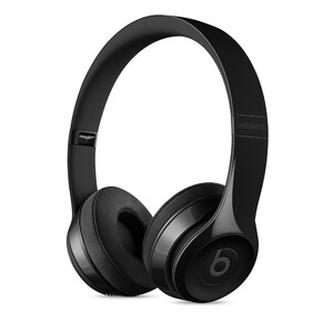 Купить Наушники Beats Solo 3 Wireless On-Ear Gloss Black (MNEN2)