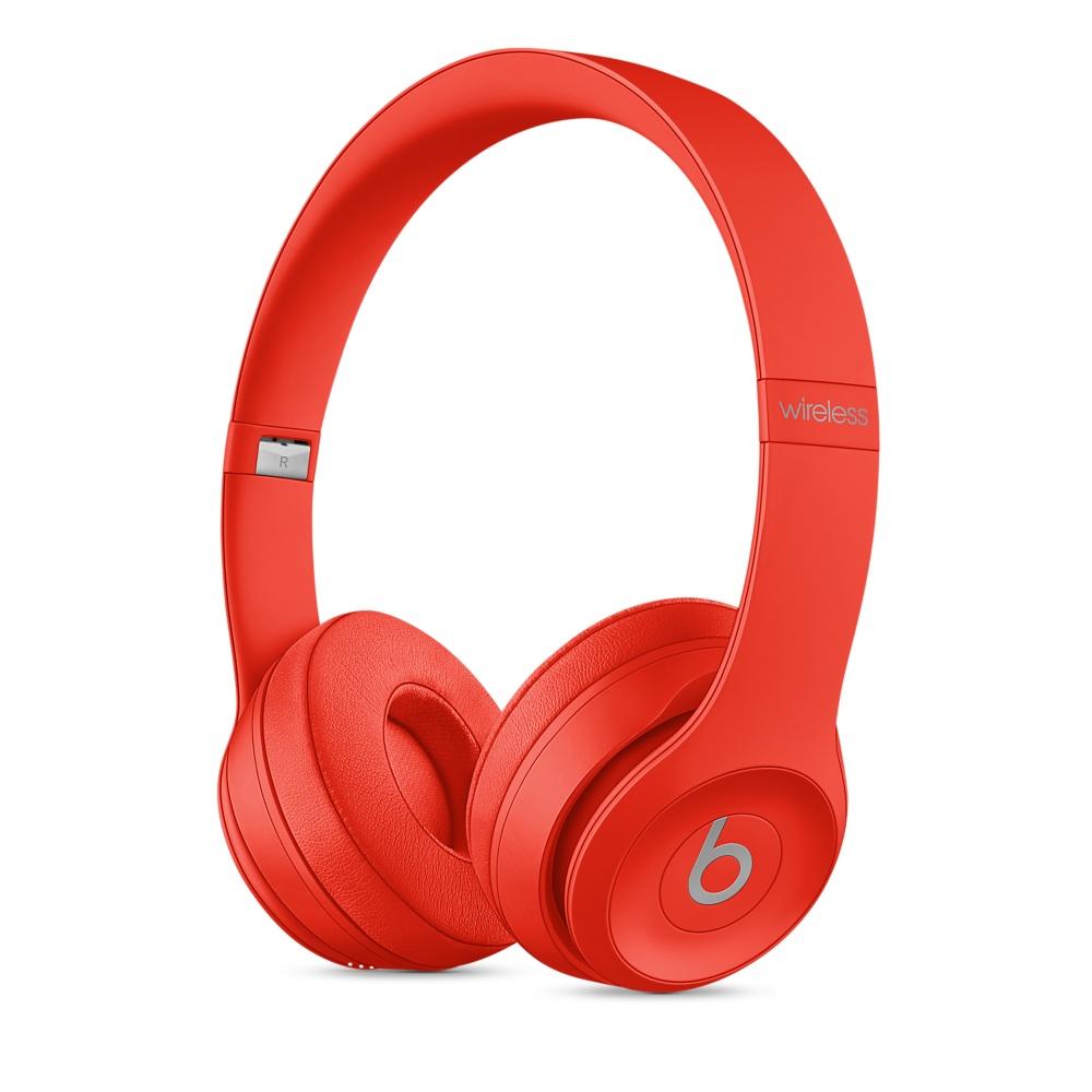 Купить Наушники Beats Solo 3 Wireless On-Ear (PRODUCT) RED (MP162)