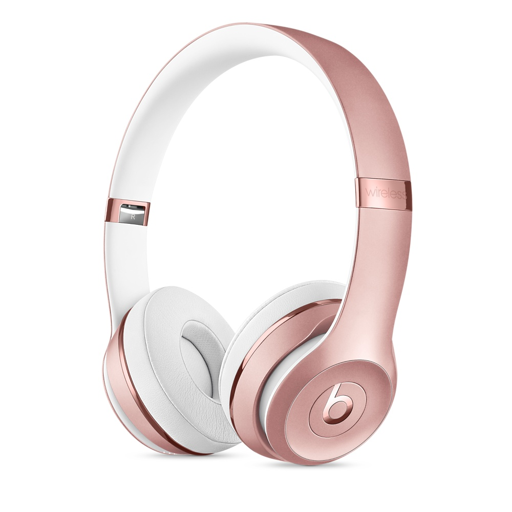 Купить Наушники Beats Solo 3 Wireless On-Ear Rose Gold (MNET2)