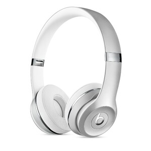 Купить Наушники Beats Solo 3 Wireless On-Ear Silver (MNEQ2)