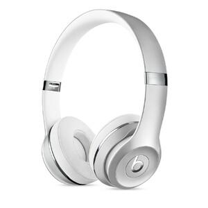 Купить Наушники Beats Solo 3 Wireless On-Ear Silver (MNEQ2)