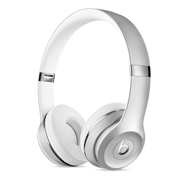 Наушники Beats Solo 3 Wireless On-Ear Silver (MNEQ2)