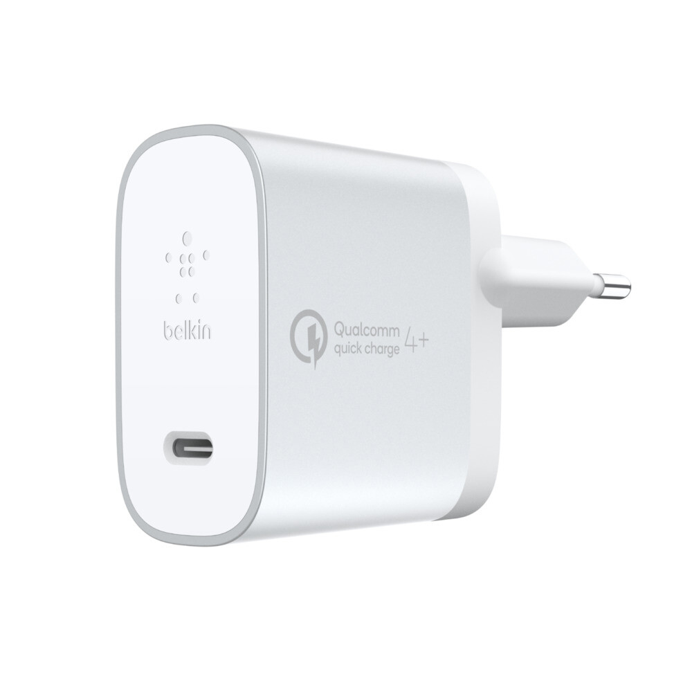 Зарядное устройство Belkin Boost Charge USB-C Silver 27W