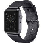 Ремешок Belkin Classic Leather Band Black для Apple Watch 42mm Series 1/2/3