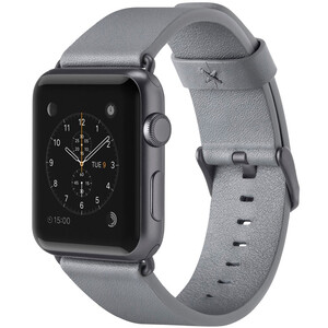 Купить Ремешок Belkin Classic Leather Band Gray для Apple Watch 42mm Series 1/2/3