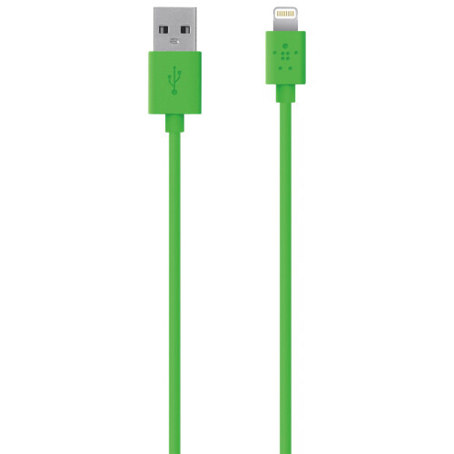 Кабель Belkin MIXIT↑ Lightning Green для iPhone/iPod/iPad