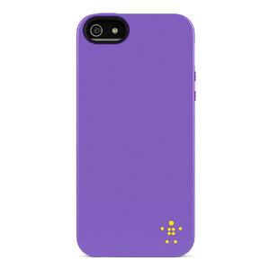 Купить Чехол-накладка Belkin Grip Neon Glo Purple для iPhone 5/5S/SE