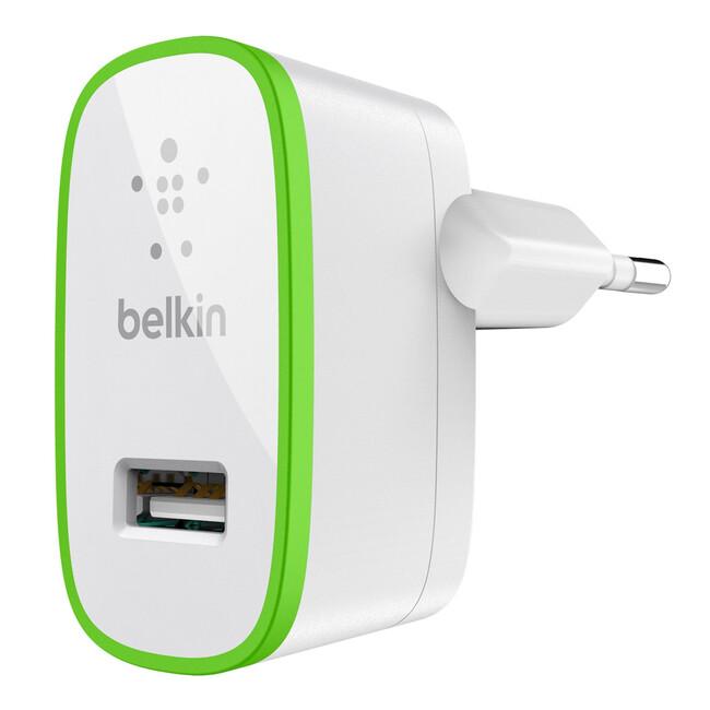 Зарядное устройство Belkin Home Charger White (10 Watt/2.1 Amp)