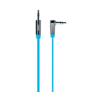 Купить Аудио кабель Belkin Mixit Jack 3.5mm (0.9m) Blue