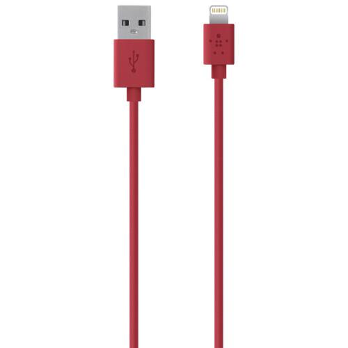 Кабель Belkin MIXIT↑ Lightning Red для iPhone/iPod/iPad