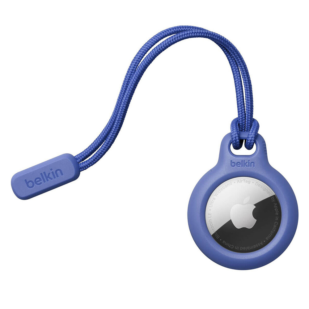Купить Брелок со шнурком Belkin Secure Holder Blue для AirTag