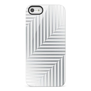 Купить Чехол Belkin Shield Pinstripe Silver для iPhone 5/5S/SE
