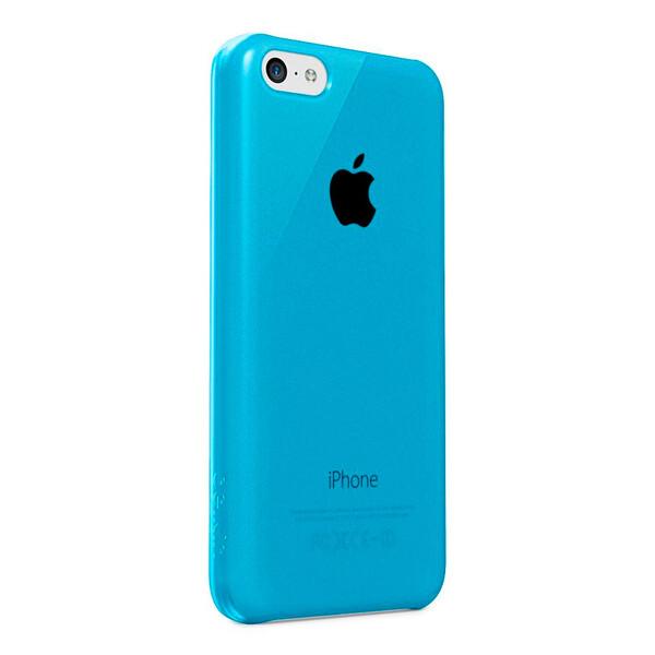 Чехол Belkin Shield Sheer Blue для iPhone 5C