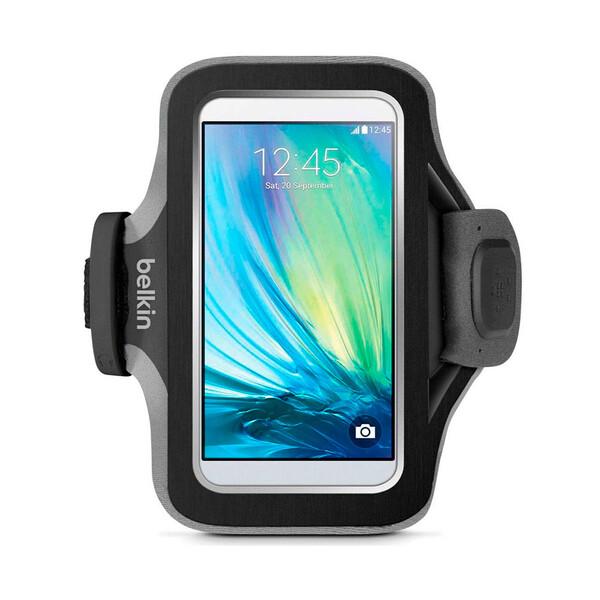"""Спортивный чехол с креплением на руку Belkin Slim-Fit Armband для телефонов до 5.1"""""""