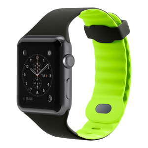 Купить Ремешок Belkin Sport Band Blacktop/Flash для Apple Watch 42mm/44mm Series 1/2/3/4