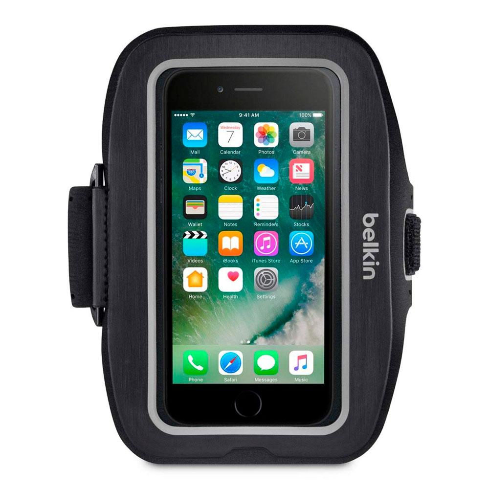 Купить Спортивный чехол Belkin Sport-Fit Plus Armband Blacktop для iPhone 6 | 6s | 7 | 8