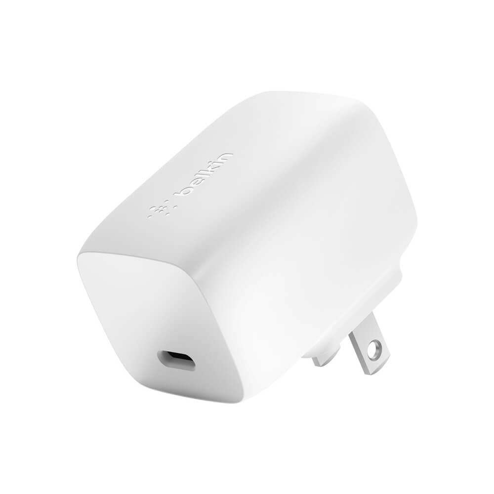 Купить Быстрое сетевое зарядное устройство Belkin USB-C PD GaN Wall Charger 60W (US)