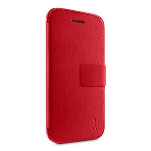Купить Кожаный чехол-книжка Belkin Wallet Folio Red для iPhone 5C