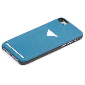 Купить Кожаный чехол Bellroy 1 Card Arctic Blue для iPhone 7/8