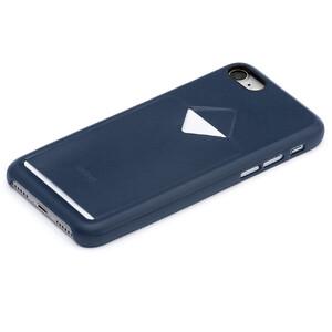 Купить Кожаный чехол Bellroy 1 Card Blue Steel для iPhone 7/8