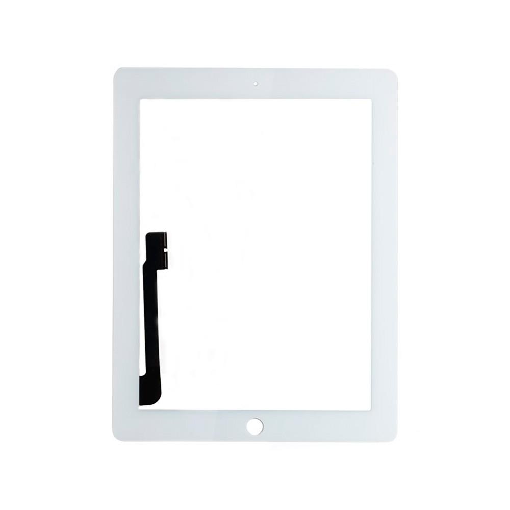 Купить Белый тачскрин (сенсорный экран, копия) для iPad 3 | 4