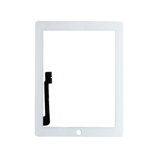 Белый тачскрин (сенсорный экран, копия) для iPad 3 | 4