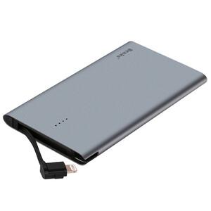Купить Внешний аккумулятор Benks E400C Gray 4000mAh с встроенным кабелем Lightning