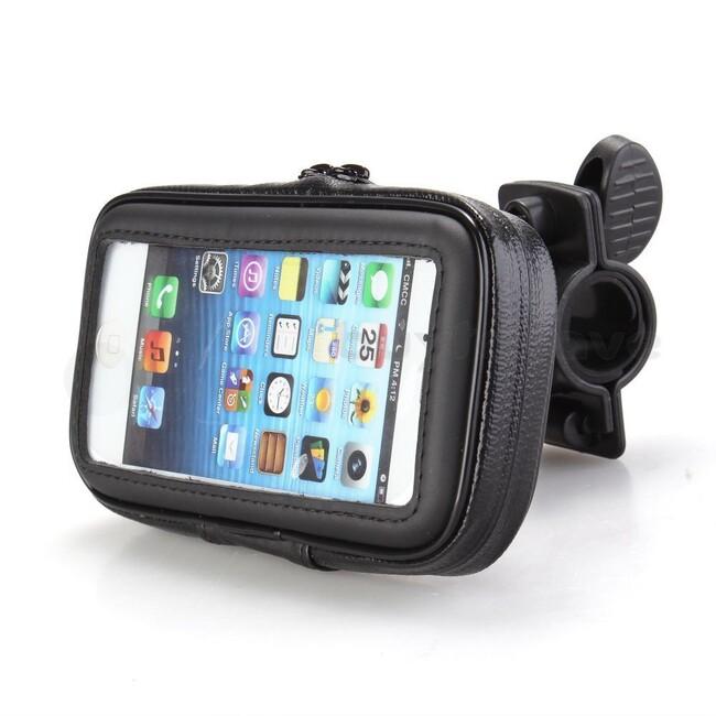 Влагозащищенный велодержатель IPX4 для iPhone/iPod Touch