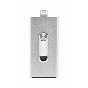 Купить USB-флешка Binchu FlashDrive 128GB Silver для iPhone/iPad/iPod