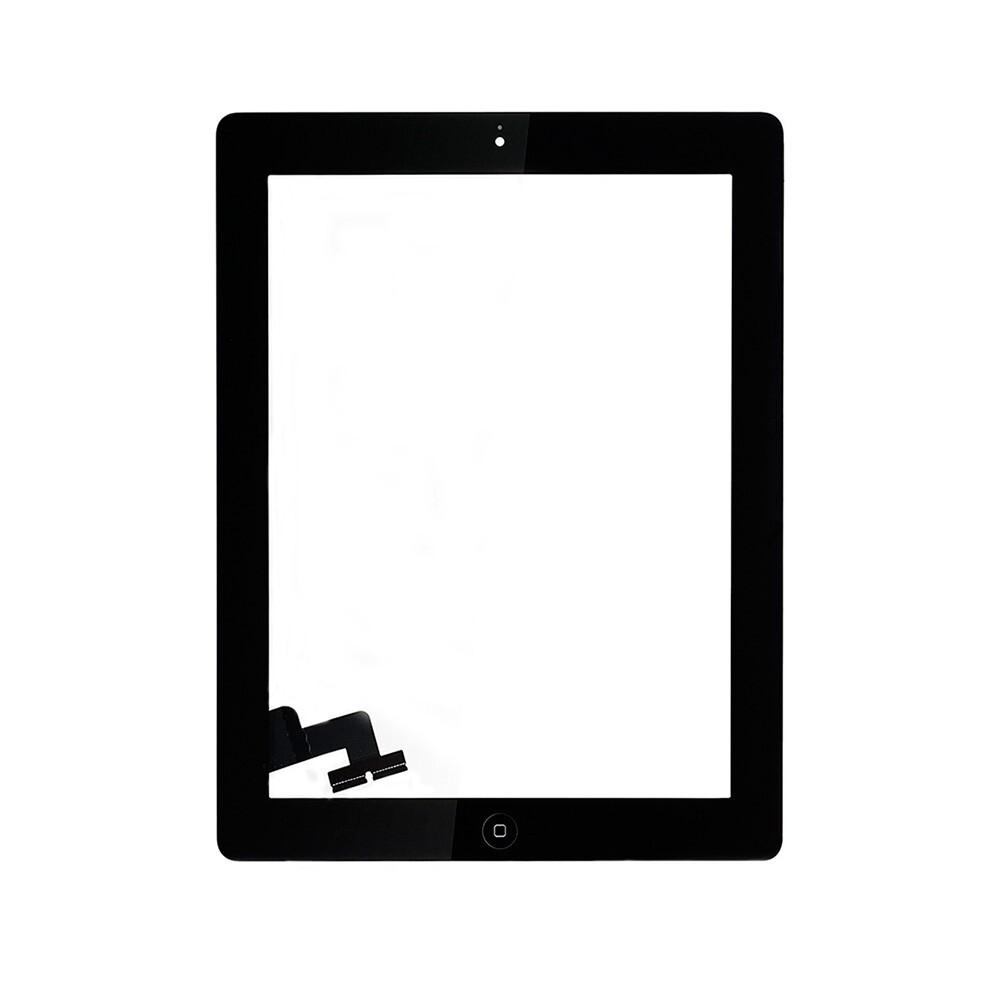 Черный тачскрин (сенсорный экран) для iPad 2