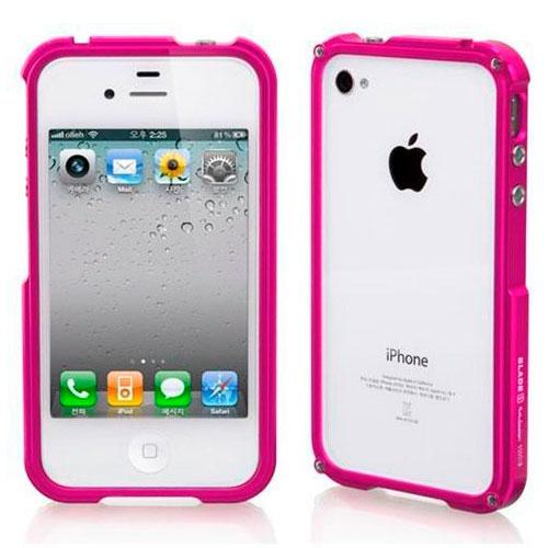 Купить iLoungeMax Blade Aluminium Bumper Pink для iPhone 4 | 4S