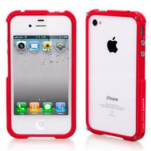 Купить Blade Aluminium Bumper Red для iPhone 4/4S