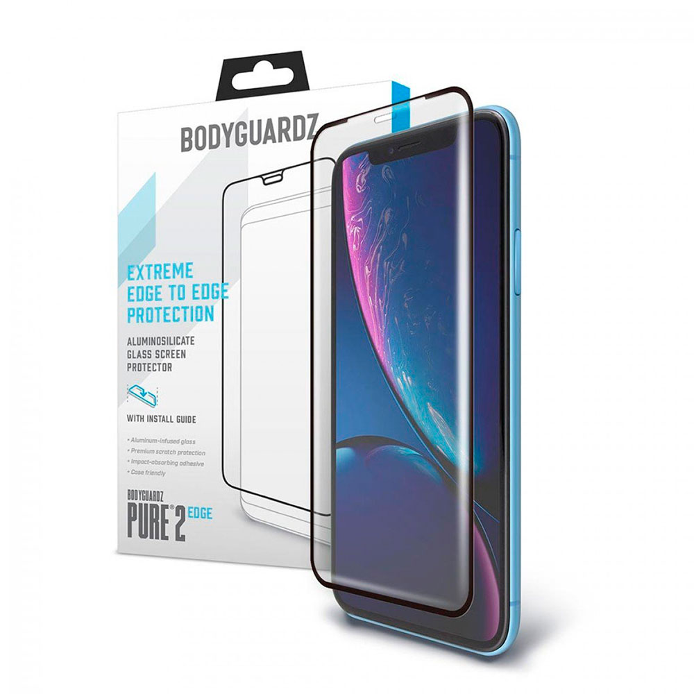 Купить Защитное стекло BodyGuardz Pure 2 Edge для iPhone 11 | XR