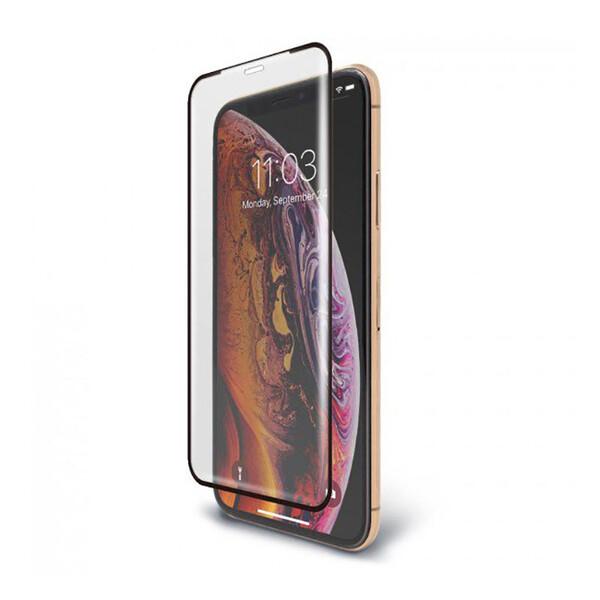 Защитное стекло BodyGuardz Pure 2 Edge для iPhone 11 Pro Max | XS Max с рамкой для поклейки
