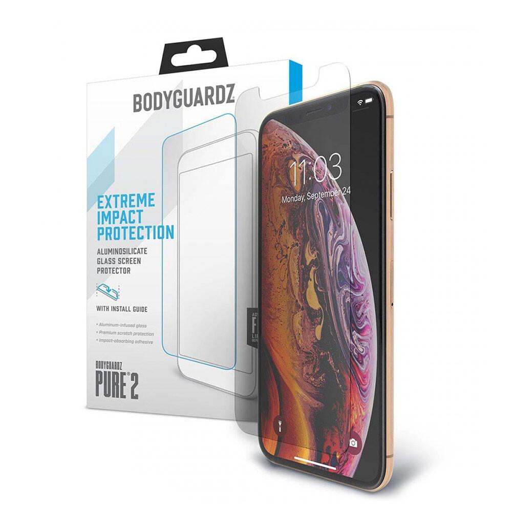 Защитное стекло BodyGuardz Pure 2 для iPhone XS Max