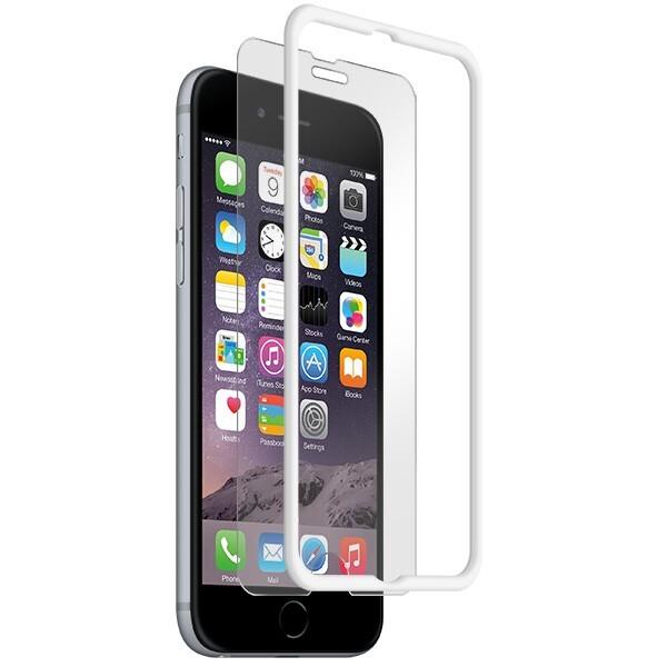 Защитное стекло BodyGuardz Pure + The Crown Glass White для iPhone 6/6s