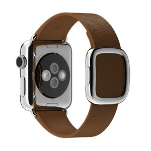 Купить Ремешок Apple 38mm Brown Modern Buckle (MJ542) Medium для Apple Watch Series 1/2