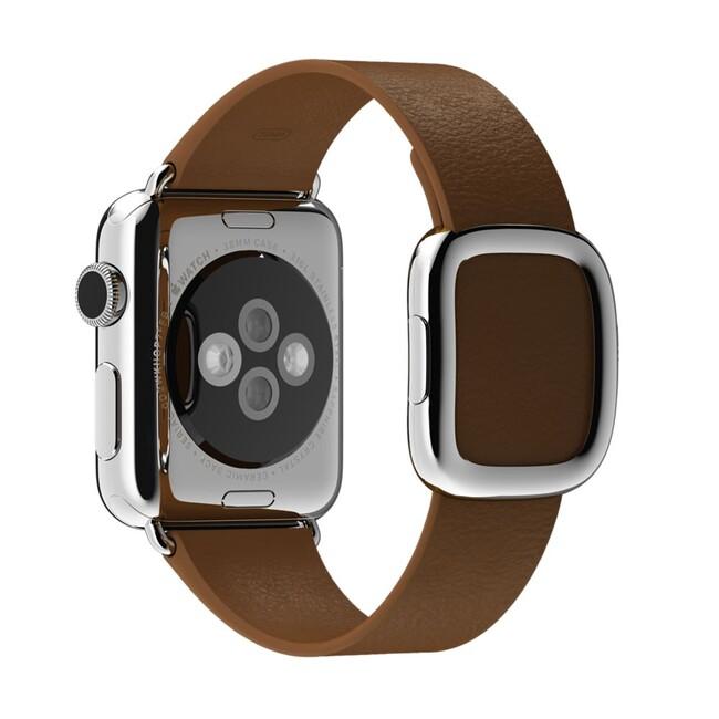 Ремешок Apple 38mm Brown Modern Buckle (MJ542) Medium для Apple Watch Series 1/2
