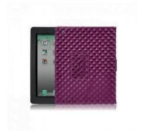 Купить Фиолетовый кожаный чехол BRUNO для iPad 2/3/4