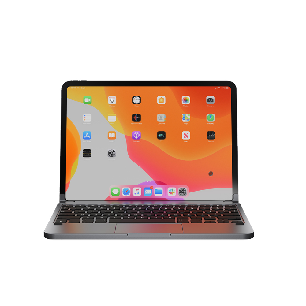 Купить Чехол-клавиатура Brydge PRO+ Space Gray для iPad Pro 11″ (2020 | 2018)