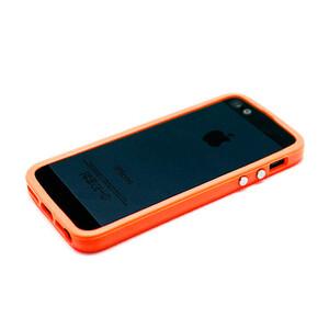 Купить Оранжевый бампер Apple для iPhone 5/5S/SE