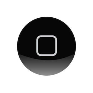 Купить Силиконовая черная накладка на кнопку HOME для iPhone/iPad/iPod Touch