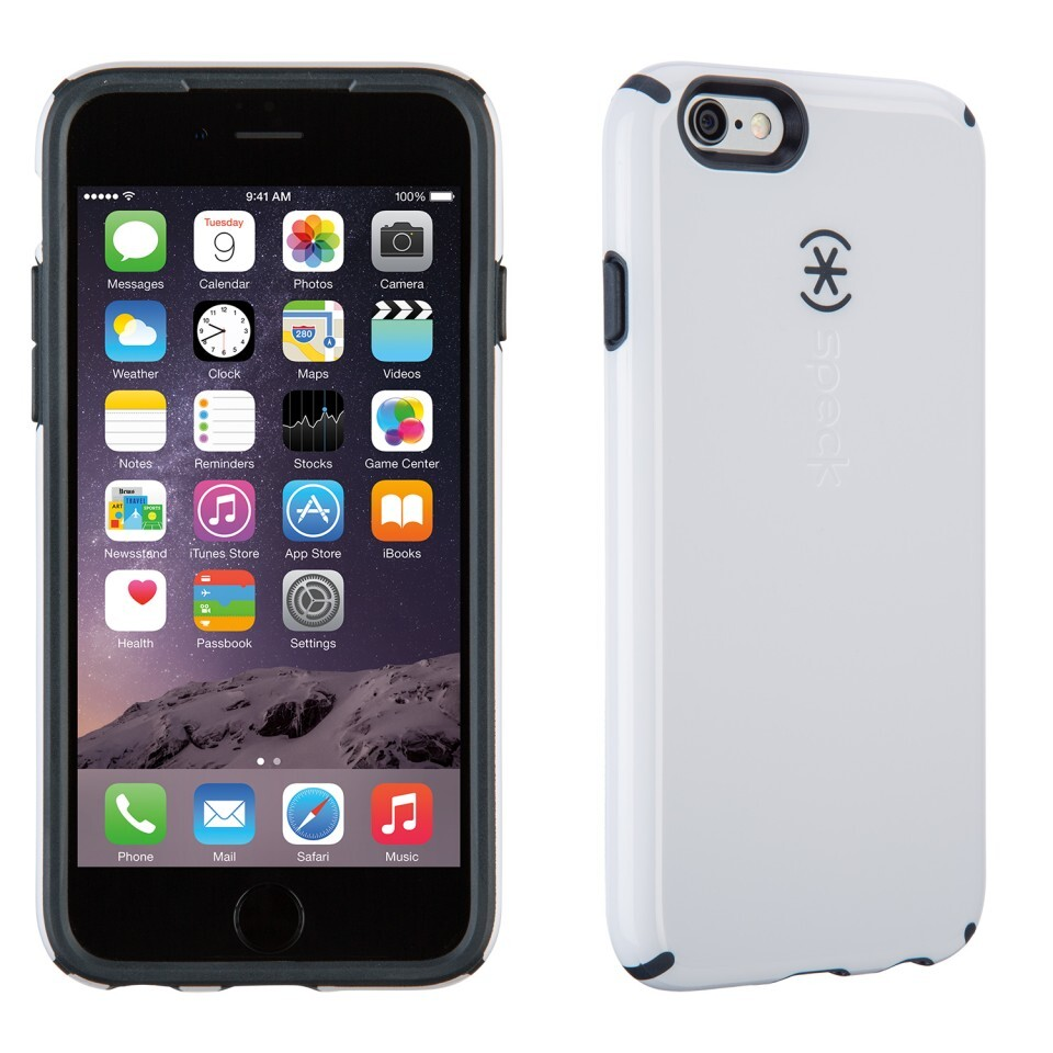 Чехол Speck CandyShell White/Charcoal Grey для iPhone 6/6s