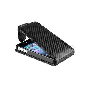 Купить Flip чехол CARBON для iPhone 4