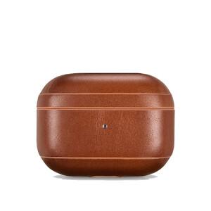 Купить Коричневый кожаный чехол для Apple AirPods Pro iCarer Vintage Leather Classic Style